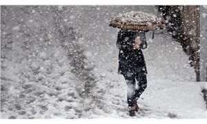 Meteoroloji'den 36 il için kar yağışı uyarısı
