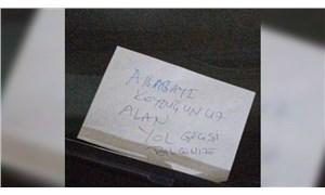 Savcı, aracına 'hatalı park etmişsiniz' notu bırakan kişiyi gözaltına aldırdı: Gerekçe, imzasız mektupla tehdit!