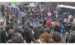 Boğaziçi Üniversitesi önündeki protestoya polis müdahalesi: Gözaltılar var