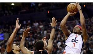 Son 8 saniyede 8-0'lık seri yakaladı: Çekişmeli karşılaşmada kazanan Wizards