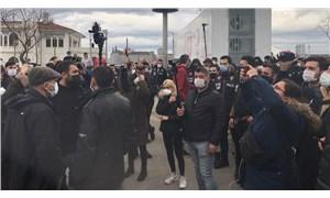 Boğaziçi'ne destek için Kadıköy'de toplananlara polis müdahale etti: 104 gözaltı
