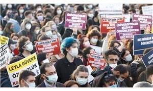 Muğla'da üniversite öğrencilerinden Boğaziçi direnişine destek