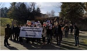 ODTÜ öğrencilerinden Boğaziçi'ne destek: Üniversitelerimizi savunacağız!