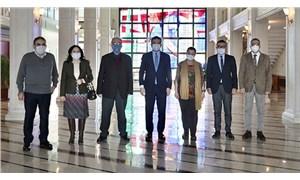 TTB yöneticileri İBB Başkanı İmamoğlu'yla görüştü