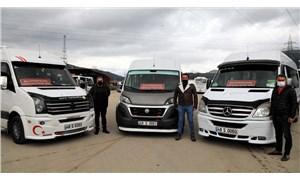 Muğla Büyükşehir'den servis şoförlerine destek
