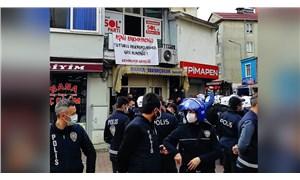 Kemalpaşa'da Boğaziçi açıklaması yapan gençlere polis müdahalesi