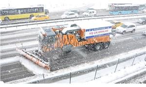 İBB kar yağışına karşı alarma geçti