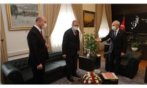 Akar ile Soylu'dan CHP ve İYİ Parti'ye Gara bilgilendirmesi ziyareti