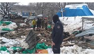 Şile'de ahır çöktü: Hayvanlar enkaz altında kaldı