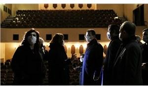 İmamoğlu, Kenter Tiyatrosu'nu inceledi: Maneviyatını koruyacağız