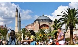 İstanbul'a gelen yabancı turist sayısı yüzde 66,4 azaldı