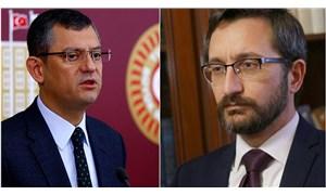CHP'li Özel: Fahrettin Altunmakas döndü en son cumhurbaşkanını sansürledi