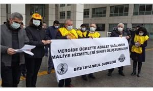 BES İstanbul Şubeleri: Adaletsiz vergi sistemine hayır!
