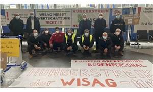 Frankfurt Havalimanı'nda işten çıkarılan işçiler açlık grevine başladı