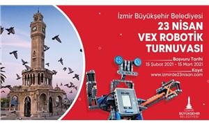 İzmir Büyükşehir Belediyesi'nden Vex Robotik Turnuvası