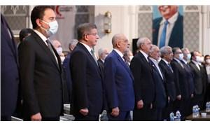 Kılıçdaroğlu ve Sancar, Erbakan'ı anma törenine katıldı