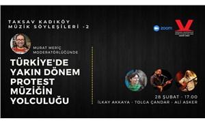 TAKSAV Kadıköy Müzik Söyleşileri'nin bu haftaki konukları: İlkay Akkaya, Tolga Çandar, Ali Asker