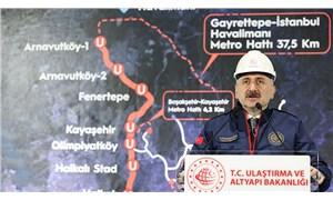 Bakan Karaismailoğlu: İstanbul'da iki raylı sistem hattı yapılacak