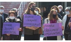 Kadınlar Semiha Peker cinayetinin ardından Sarıgöl'de toplandı: Artık yeter!