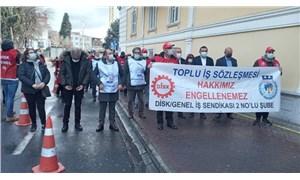 Bakırköy Belediyesi emekçileri: Toplu sözleşme hakkımız engellenemez