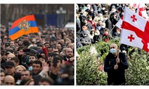 Ermenistan'da ve Gürcistan'da siyasi kriz: Benzerlik ve farklılıklar