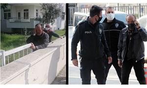 Markette bir kadını taciz eden erkek, serbest bırakıldıktan sonra yine aynı kadını taciz ederken gözaltına alındı