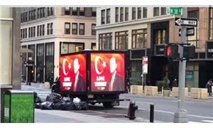 """""""Love Erdoğan"""" kampanyası New York sokaklarına taşındı"""