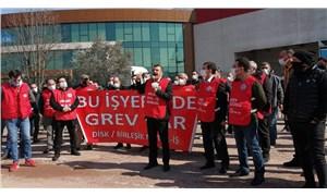 Cem Bialetti fabrikasında Birleşik Metal greve çıktı
