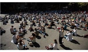 Madrid'de doktorlardan grev: Kaliteli ve onurlu şartlarda çalışmak istiyoruz