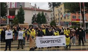 Soma maden işçileri: Taleplerimizin arkasındayız