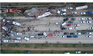 Bursa-Ankara kara yolunda zincirleme trafik kazası: 4 ölü, 20 yaralı