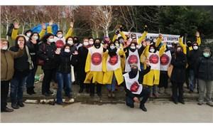 SOL Parti Migros işçilerinin yanında