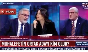 Habertürk canlı yayınında 'yandaş medya' tartışması: Sosyal medyada gündem oldu