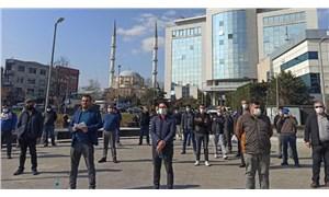 AKP'li Bayrampaşa Belediyesi'nde işçilerden sefalet sözleşmesine karşı eylem