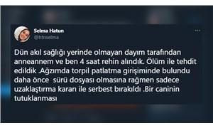 Trabzon'da dayısı tarafından rehin alınan genç kadın: Tutuklanması için ölmemiz gerekmiyor