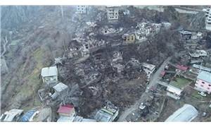Yusufeli Dereiçi yangını için yardım kampanyası başlatıldı