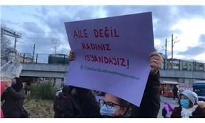 """""""İstanbul Sözleşmesi'nden değil hayatlarımızdan, haklarımızdan ellerinizi çekin!"""""""