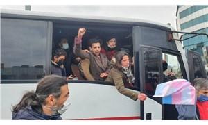 Gözaltına alınan arkadaşlarına destek veren Boğaziçi öğrencileri gözaltına alındı!