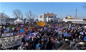 Kadıköy'de Boğaziçi eylemi: Gözaltına alınan ve tutuklananlar serbest bırakılsın