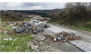 Arnavutköy'de tarım alanı ve ormanlara kaçak kimyasal madde dökümü iddiası