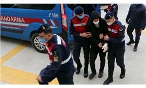 Evli olduğu kadının üzerine benzin döküp yakan Ekrem A. isimli erkek tutuklandı