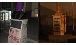 Tekirdağ'da üç okulda Atatürk büstlerine saldırı