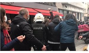 Boğaziçi öğrencilerinin eylemine polis müdahalesi: Gözaltılar var!