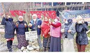 Çayımızı, doğamızı Cengiz'in madenine teslim etmeyiz