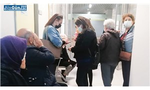 DEÜ'de poliklinik kapatıldı, hastalar dışarıda kaldı