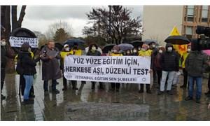 Eğitim Sen İstanbul Şubeleri: Eğitim emekçileri hızlıca iki doz aşılanmalı