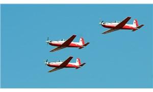 İzmir'de askeri eğitim uçağı denize düştü, pilotlar kurtarıldı