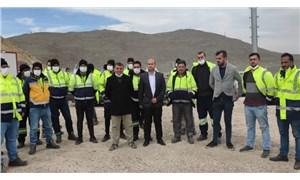 Maden işçileri hakları için direniyor