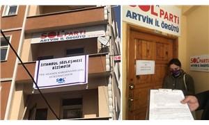 SOL Parti Artvin İl Örgütü hakkında İstanbul Sözleşmesi nedeniyle arama kararı