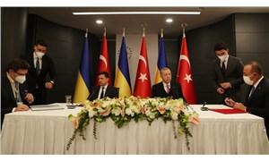 Erdoğan, Zelenskiy ile görüştü: Karadeniz'deki kriz, diplomatik yöntemlerle çözülmeli